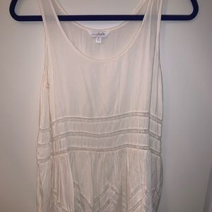 Charming Charlis white/ creamy  lace dress!!